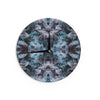 "Akwaflorell ""Abyss"" Blue Black Wall Clock - KESS InHouse"