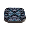 "Akwaflorell ""Abyss"" Blue Black Coasters (Set of 4)"