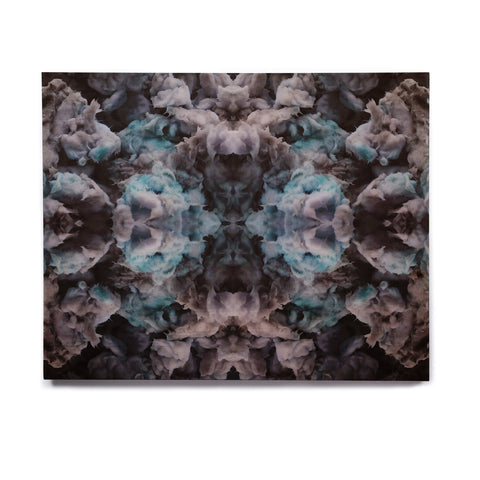 "Akwaflorell ""Abyss"" Blue Black Birchwood Wall Art - KESS InHouse  - 1"
