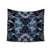 "Akwaflorell ""Abyss"" Blue Black Wall Tapestry - KESS InHouse  - 1"