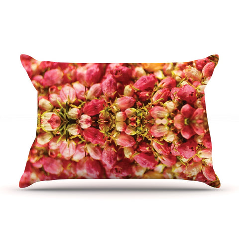 "Akwaflorell ""Close to You"" Red Orange Pillow Sham - KESS InHouse  - 1"