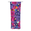 "Akwaflorell ""Find the Tiger"" Purple Pink Decorative Sheer Curtain - KESS InHouse"