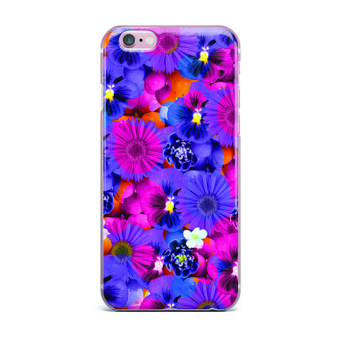 "Akwaflorell ""Find the Tiger"" Purple Pink iPhone Case - KESS InHouse"