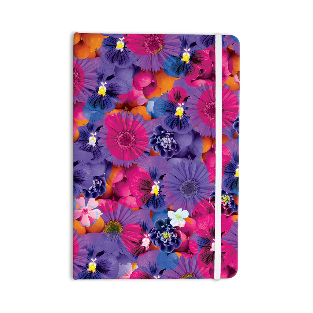 "Akwaflorell ""Find the Tiger"" Purple Pink Everything Notebook - KESS InHouse  - 1"