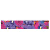 "Akwaflorell ""Find the Tiger"" Purple Pink Table Runner - KESS InHouse  - 1"