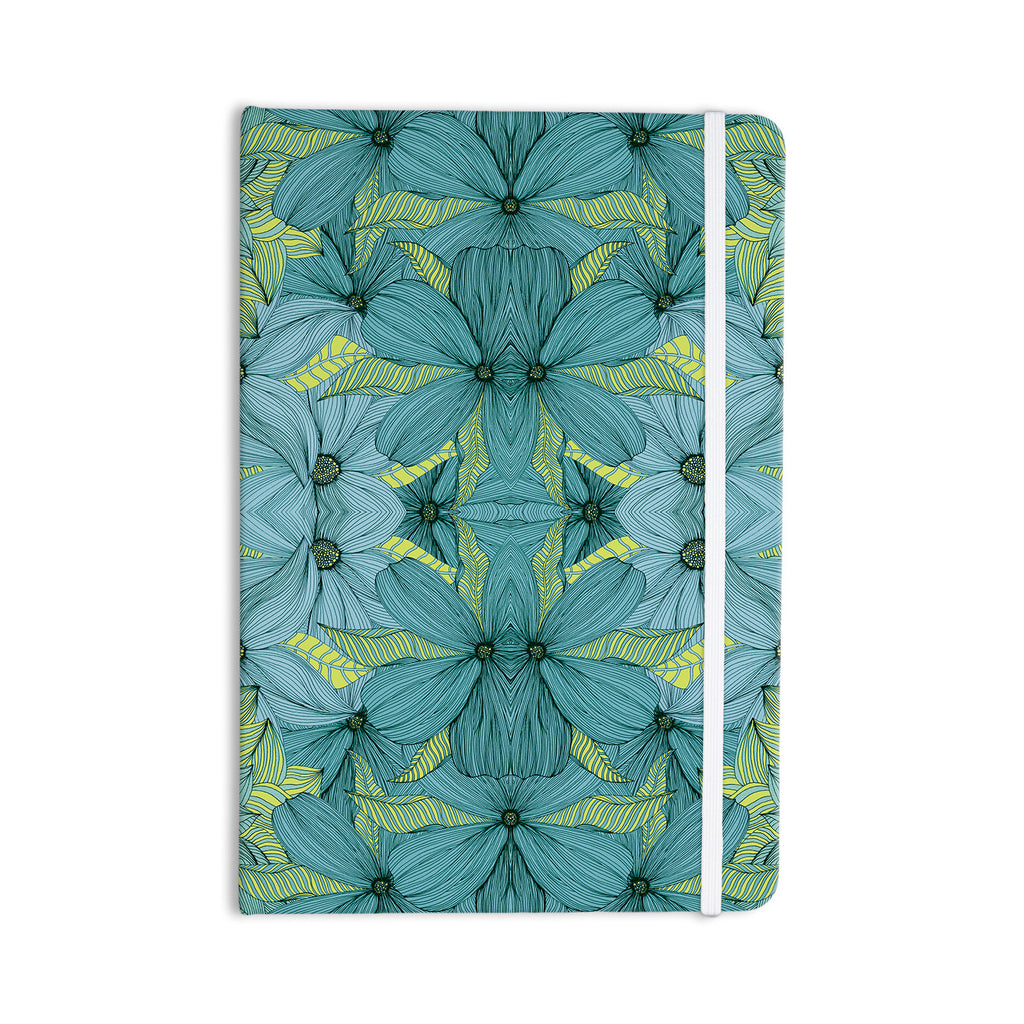 "Akwaflorell ""Blues in Blue"" Everything Notebook - KESS InHouse  - 1"