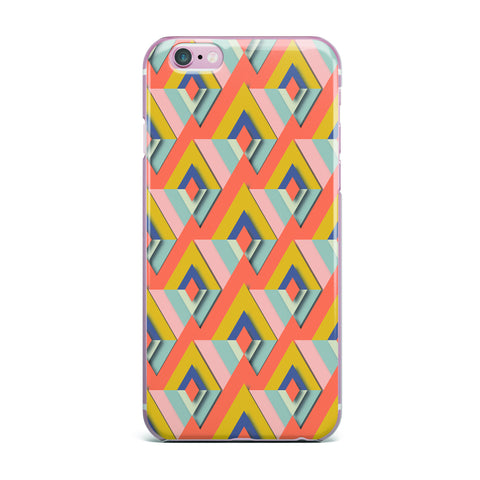 "Akwaflorell ""So Cool"" Orange Yellow iPhone Case - KESS InHouse"