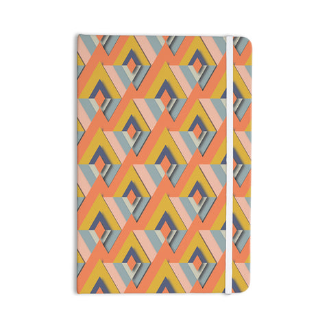 "Akwaflorell ""So Cool"" Orange Yellow Everything Notebook - KESS InHouse"