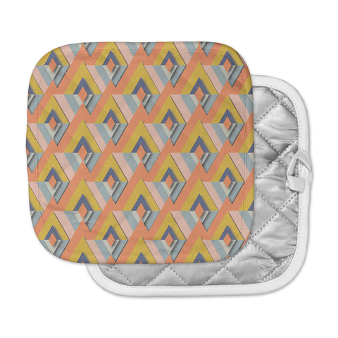 "Akwaflorell ""So Cool"" Orange Yellow Pot Holder"