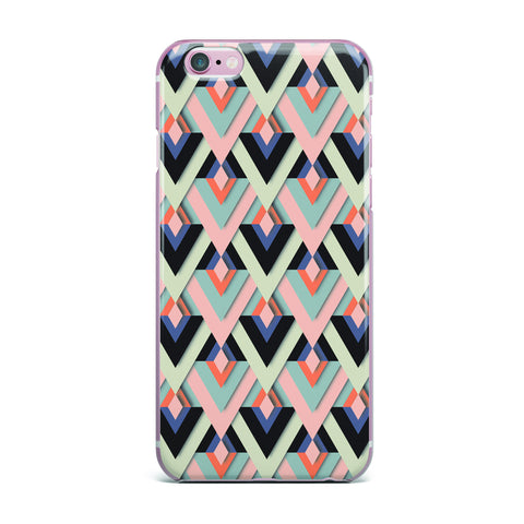 "Akwaflorell ""Sweet & Sharp"" Pink Green iPhone Case - KESS InHouse"