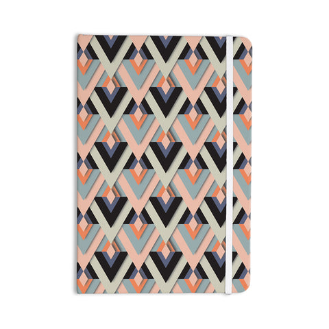 "Akwaflorell ""Sweet & Sharp"" Pink Green Everything Notebook - KESS InHouse  - 1"