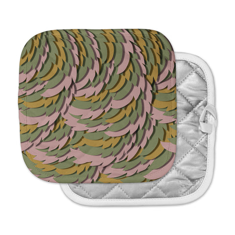 "Akwaflorell ""Wings II"" Pink Green Pot Holder"