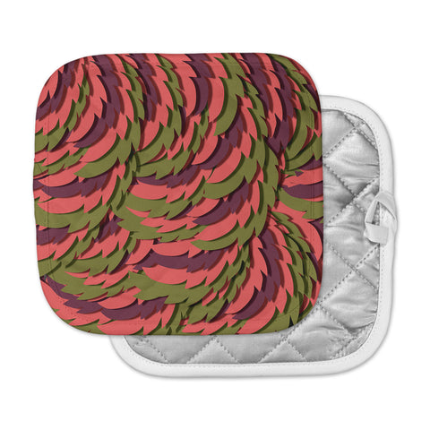 "Akwaflorell ""Wings III"" Red Brown Pot Holder"