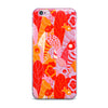 "Akwaflorell ""Fishes Here, Fishes There"" Orange Red iPhone Case - KESS InHouse"