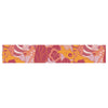 "Akwaflorell ""Fishes Here, Fishes There III"" Pink Orange Table Runner - KESS InHouse  - 1"