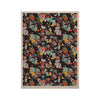 "Akwaflorell ""At Home"" Black Multicolor KESS Naturals Canvas (Frame not Included) - KESS InHouse  - 1"
