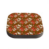 "Akwaflorell ""Mermaids"" Brown Red Coasters (Set of 4)"