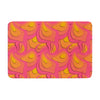 "Akwaflorell ""Fly Away Sadness"" Abstract Pink Memory Foam Bath Mat - KESS InHouse"