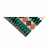 "Akwaflorell ""Knitted 2"" Green Coral Pattern Pet Bandana"