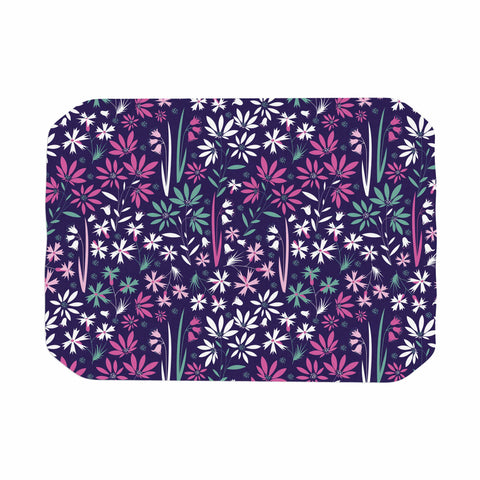 "Akwaflorell ""Meadow3"" Purple Lavender Vector Place Mat"