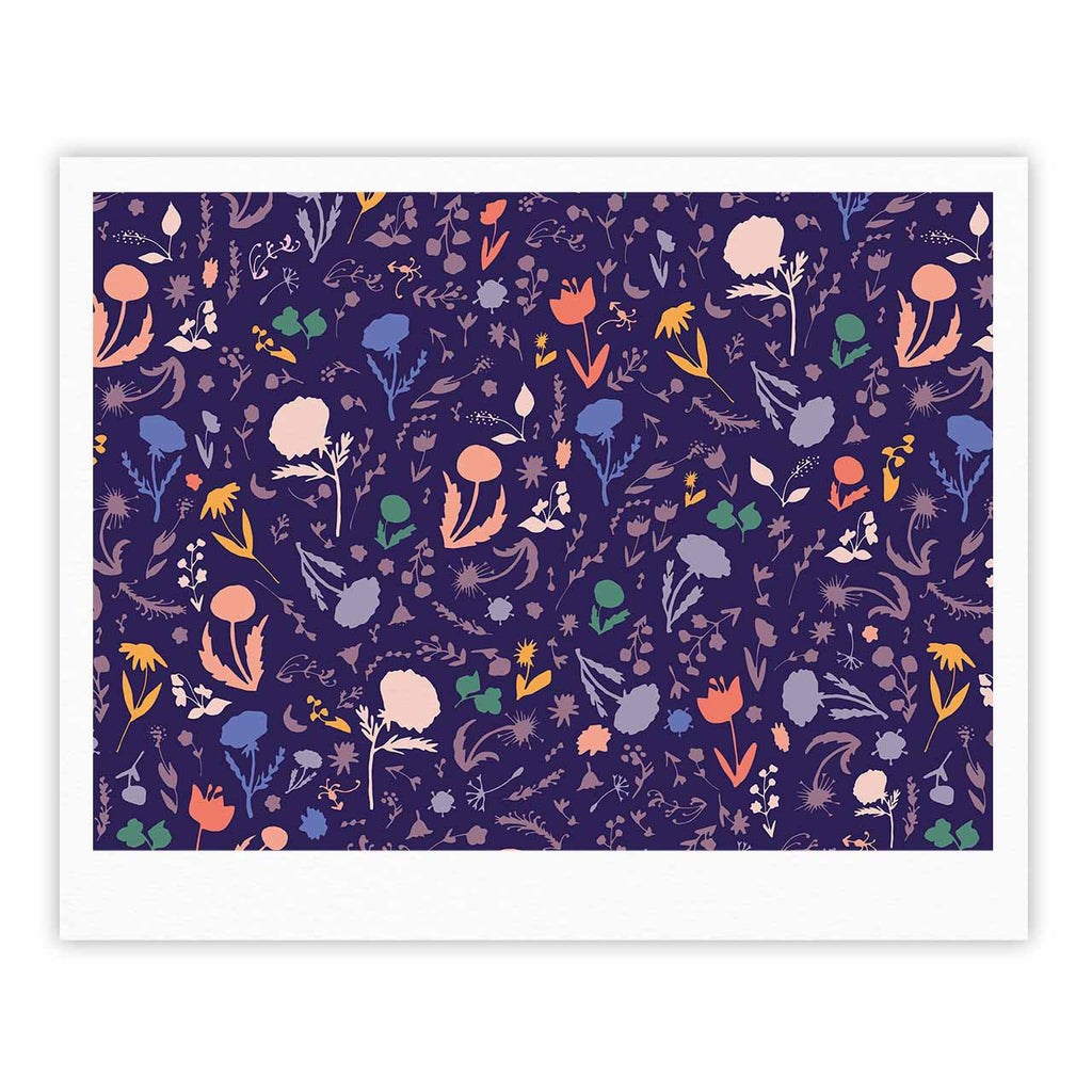 Pretty Little Flowers 2 Art Print By Akwaflorell Kess Inhouse