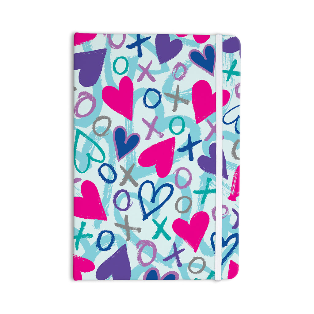 "Emine Ortega ""Hearts a Flutter"" Everything Notebook - KESS InHouse  - 1"