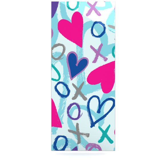 "Emine Ortega ""Hearts a Flutter"" Luxe Rectangle Panel - KESS InHouse  - 1"