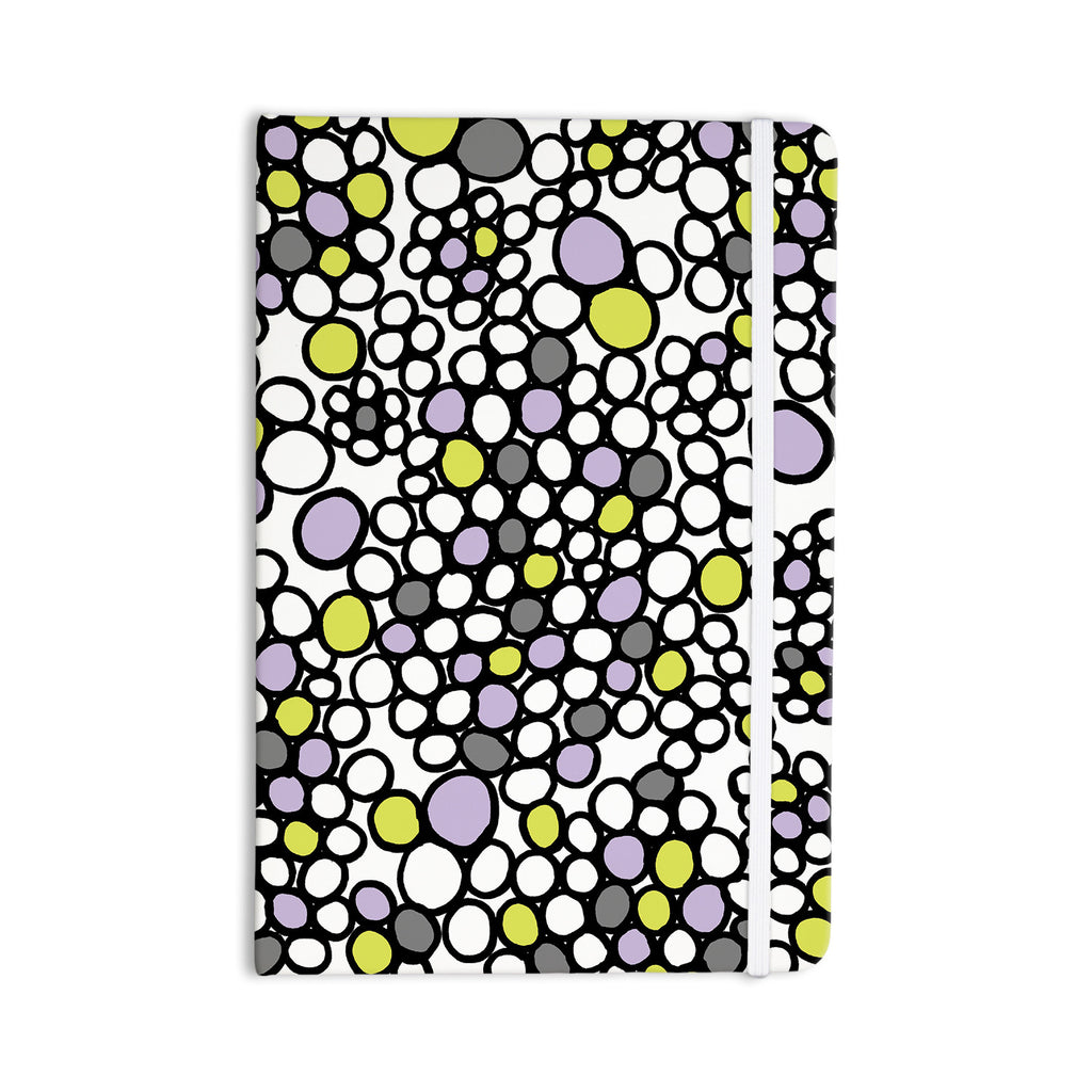 "Emine Ortega ""Pebbles Lilac"" Everything Notebook - KESS InHouse  - 1"
