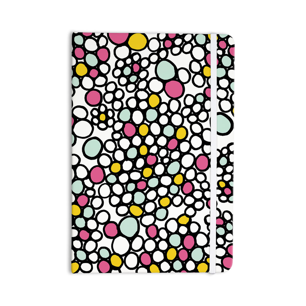 "Emine Ortega ""Pebbles Pink"" Everything Notebook - KESS InHouse  - 1"