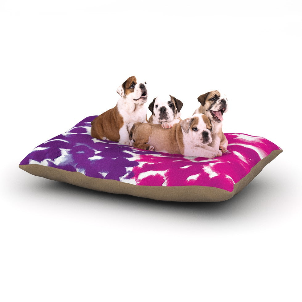 "Emine Ortega ""Fleeting Purple"" Dog Bed - KESS InHouse  - 1"