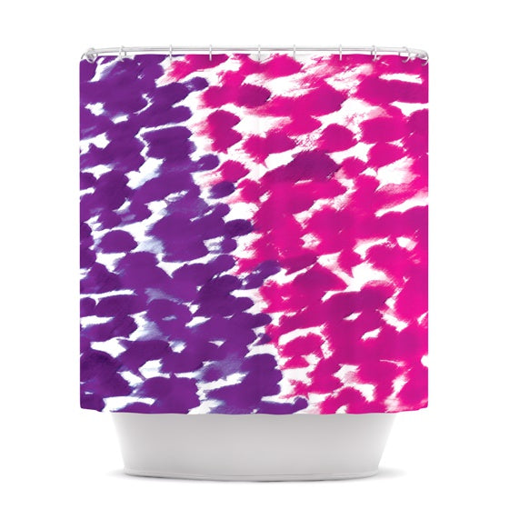 "Emine Ortega ""Fleeting Purple"" Shower Curtain - KESS InHouse"