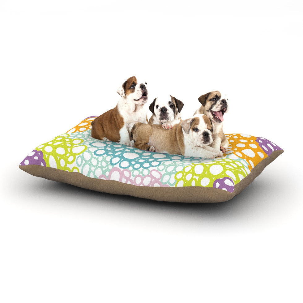 "Emine Ortega ""Bubbly"" Dog Bed - KESS InHouse  - 1"
