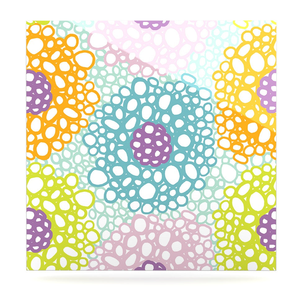 "Emine Ortega ""Bubbly"" Luxe Square Panel - KESS InHouse  - 1"