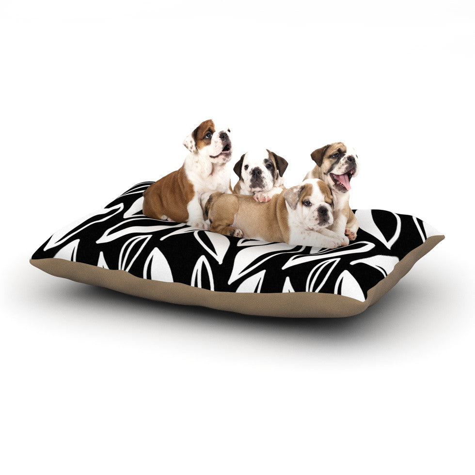"Emine Ortega ""Leaving Black and White"" Dog Bed - KESS InHouse  - 1"