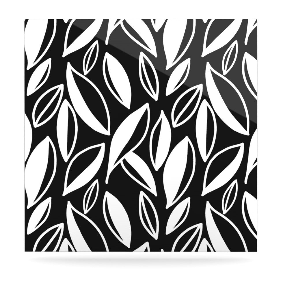 "Emine Ortega ""Leaving Black and White"" Luxe Square Panel - KESS InHouse  - 1"