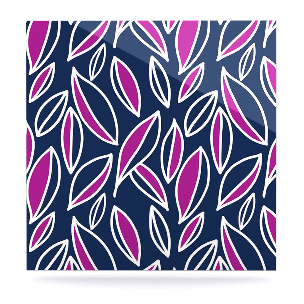 "Emine Ortega ""Leaving Magenta"" Luxe Square Panel - KESS InHouse  - 1"