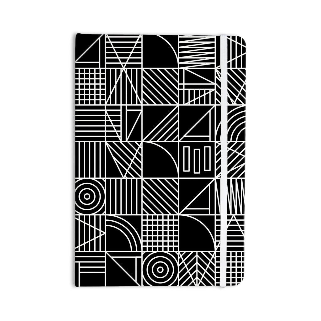 "Fimbis ""Whack"" Black White Everything Notebook - KESS InHouse"