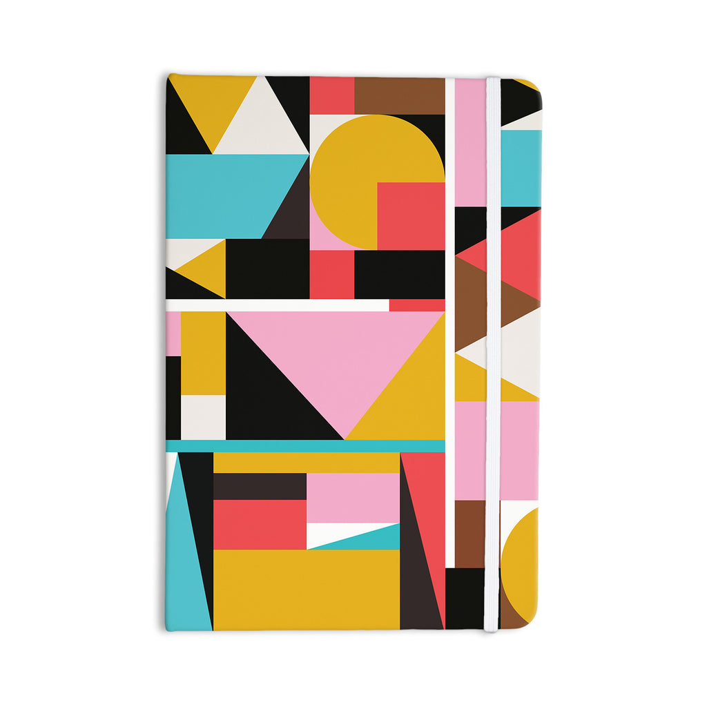 "Fimbis ""Kaku To"" Abstract Geometric Everything Notebook - KESS InHouse  - 1"