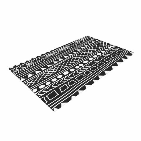 "Fimbis ""Redefined BW""  Woven Area Rug - Outlet Item"
