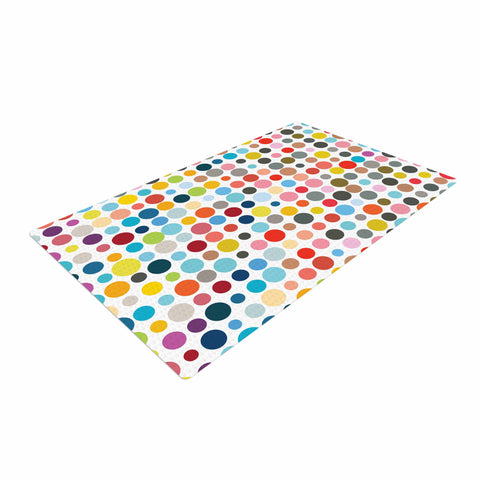 "Fimbis ""Tangled Up In Colour""  Woven Area Rug - Outlet Item"