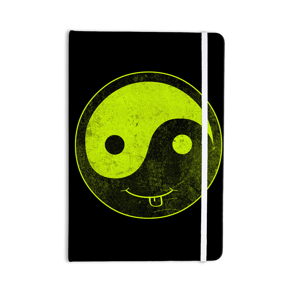 "Frederic Levy-Hadida ""Bad Ass Ying Yang"" Everything Notebook - KESS InHouse  - 1"