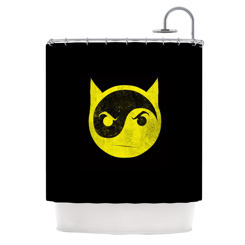 "Frederic Levy-Hadida ""Bat Yin"" Shower Curtain - KESS InHouse"
