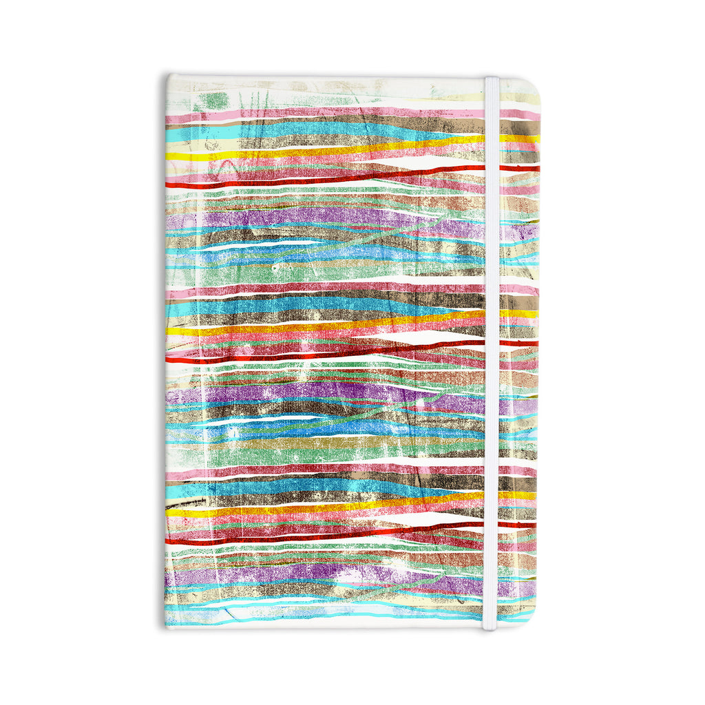 "Frederic Levy-Hadida ""Fancy Stripes Light"" Everything Notebook - KESS InHouse  - 1"