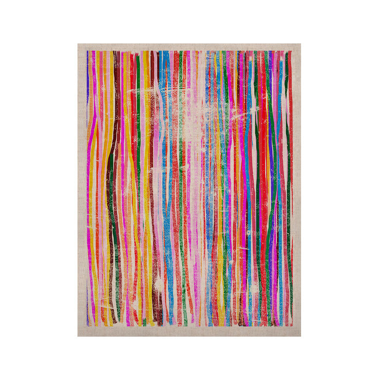 "Frederic Levy-Hadida ""Fancy Stripes Pastel"" KESS Naturals Canvas (Frame not Included) - KESS InHouse  - 1"