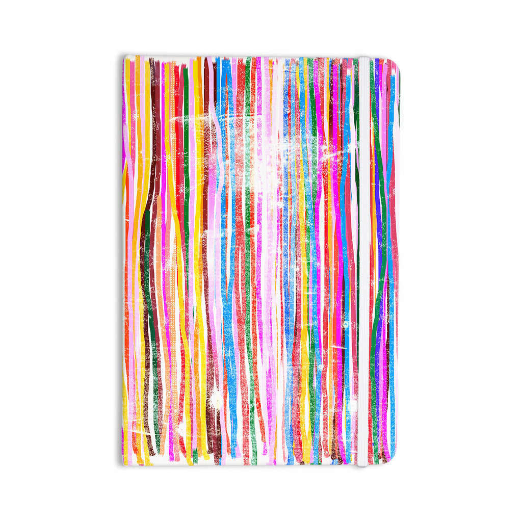 "Frederic Levy-Hadida ""Fancy Stripes Pastel"" Everything Notebook - KESS InHouse  - 1"