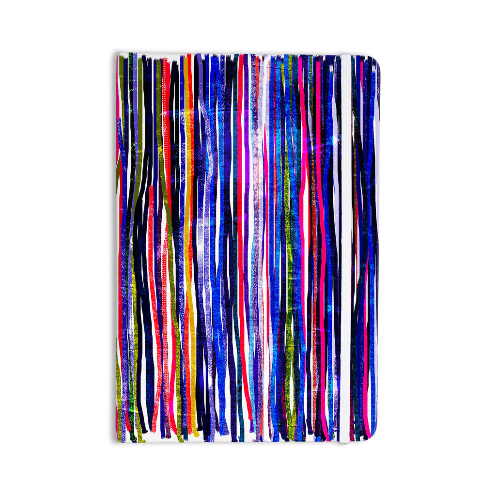 "Frederic Levy-Hadida ""Fancy Stripes Purple"" Everything Notebook - KESS InHouse  - 1"