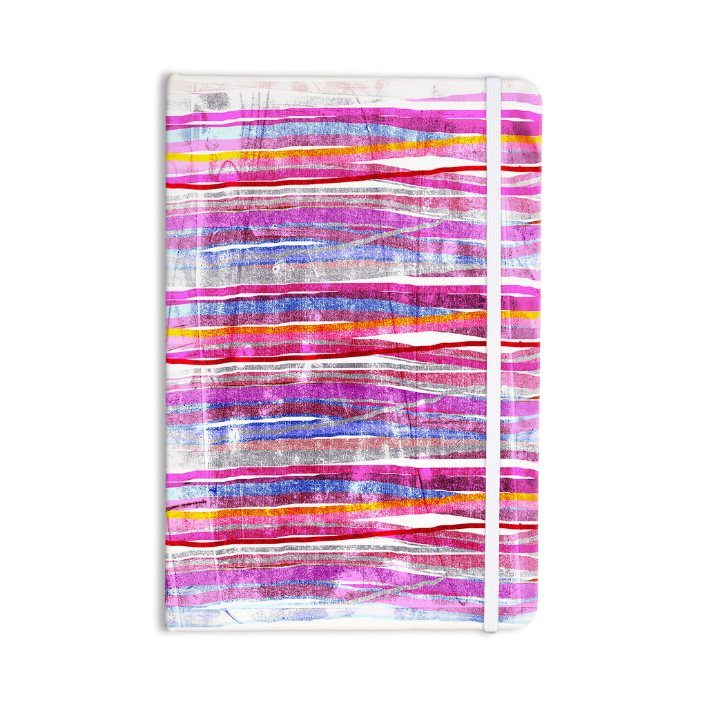 "Frederic Levy-Hadida ""Fancy Stripes Pink"" Everything Notebook - KESS InHouse  - 1"