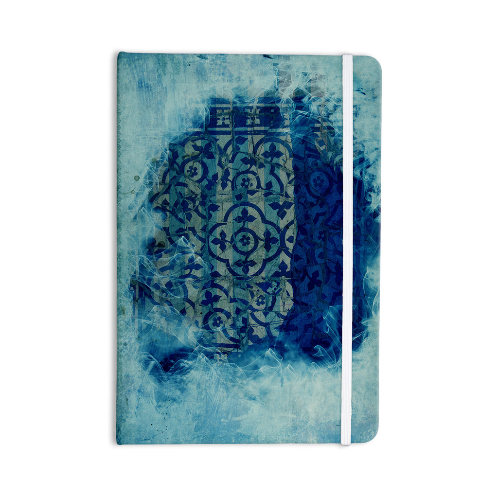 "Frederic Levy-Hadida ""Mosaic in Cyan"" Everything Notebook - KESS InHouse  - 1"