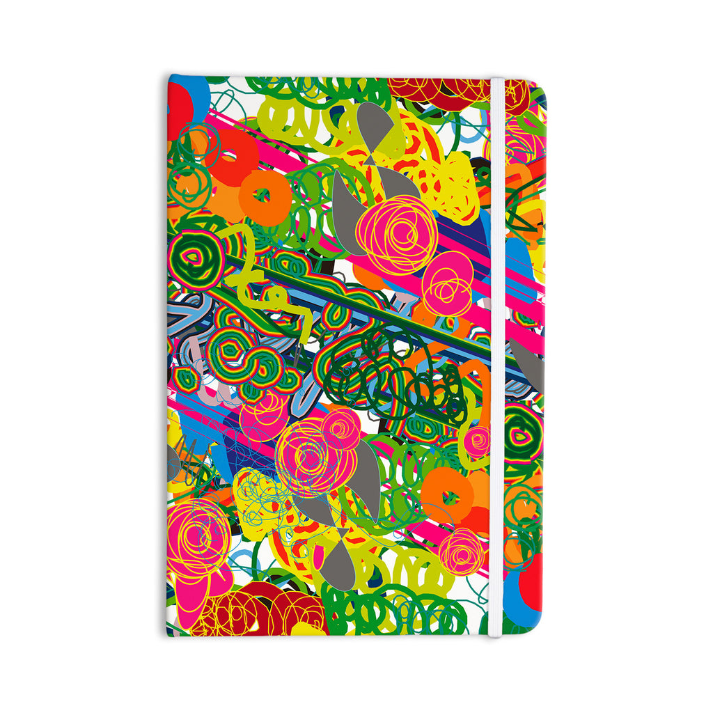 "Frederic Levy-Hadida ""Psychedelic Garden"" Everything Notebook - KESS InHouse  - 1"