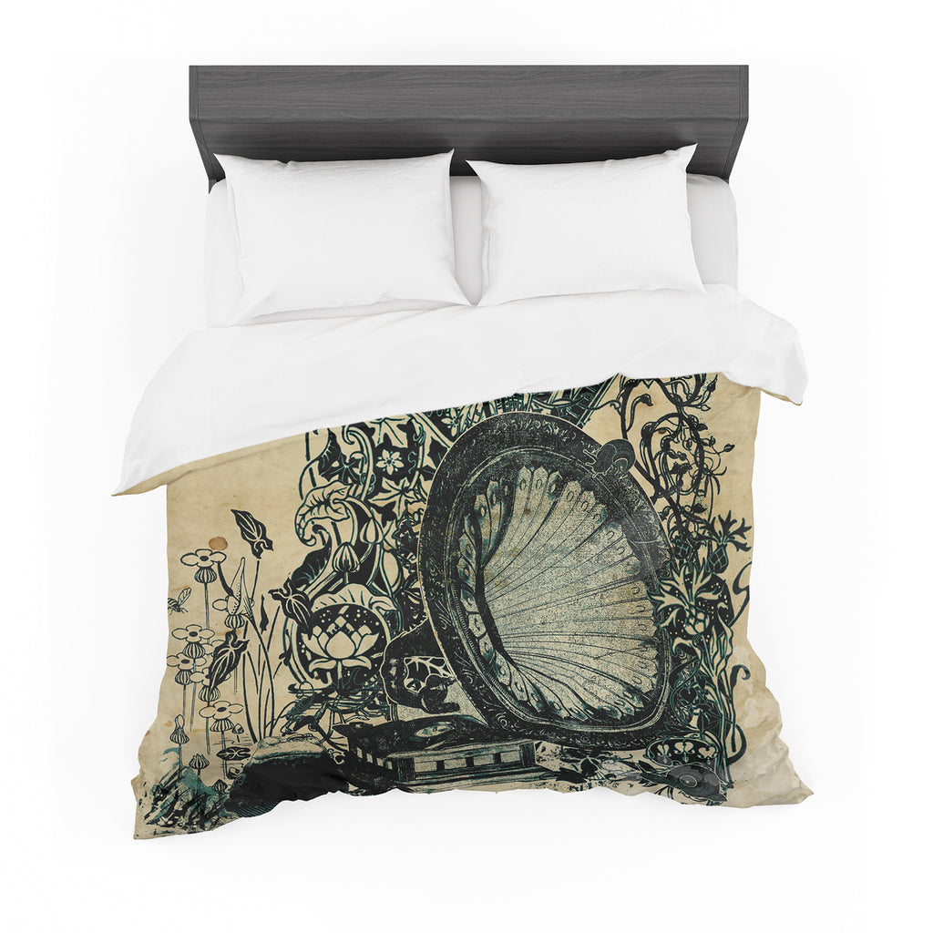 "Frederic Levy-Hadida ""Sound of Nature"" Featherweight Duvet Cover"